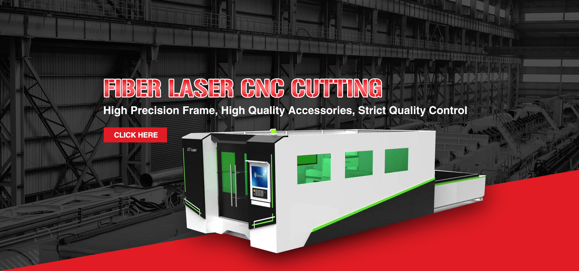 Laser fibre Cutting Machine