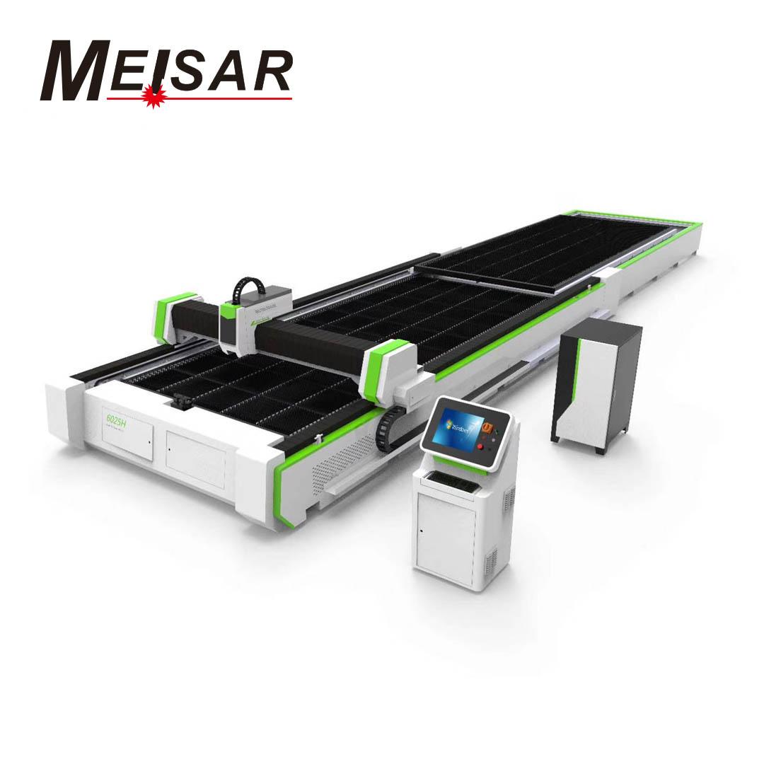 B series – Exchange table fiber laser cutting machine Featured Image